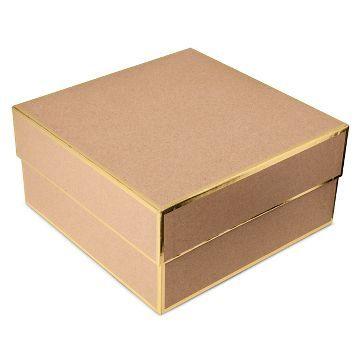 Sugar Paper® Kraft Brown Square Gift Box - Large  sc 1 st  Pinterest & Sugar Paper® Kraft Brown Square Gift Box - Large | Seasonal ... Aboutintivar.Com