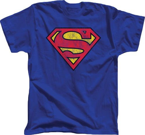 Shirt Jla Superman Collage Adult Ringer T