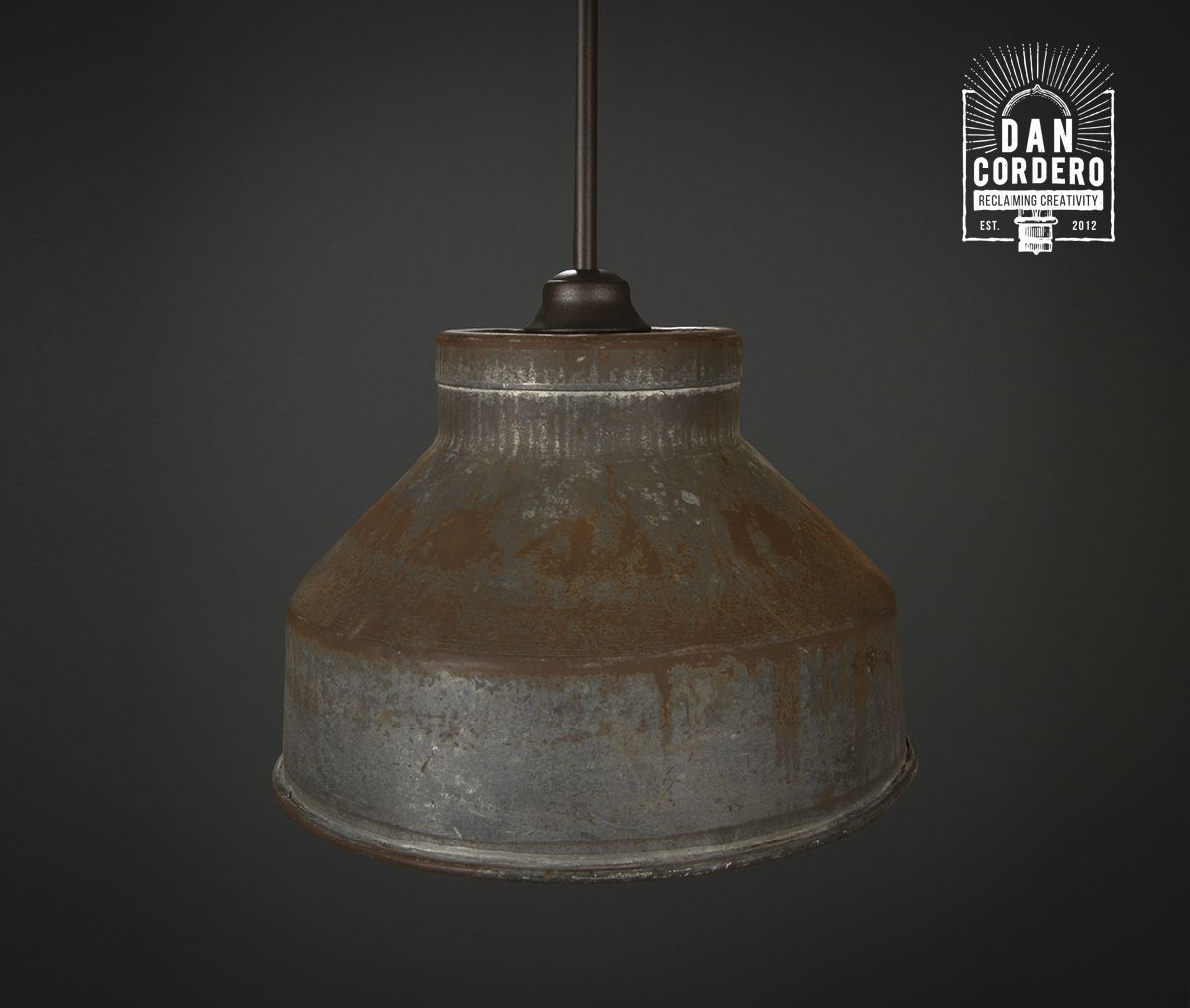 Farmhouse Pendant Light Rustic Fixer Upper Milk