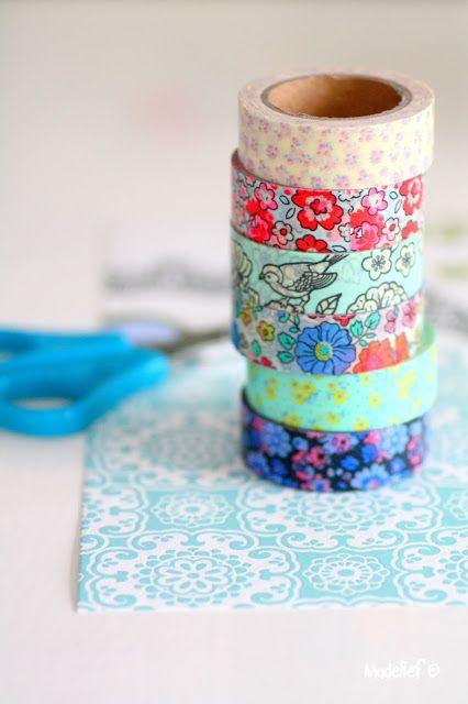 masking tape - birds & flowers