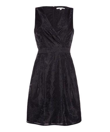 Uttam Boutique: Black Cherry Blossom Dress by Uttam on #zulilyUK today!