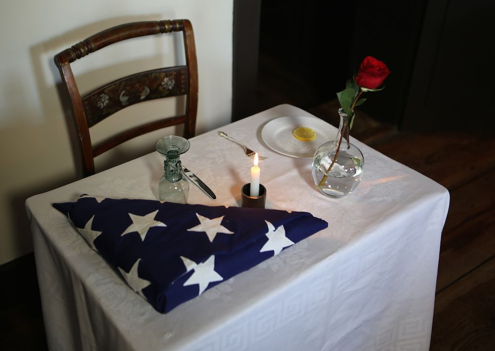 The table set for the Fallen Soldier has become a tradition in our family. I\u0027d love to share the significance behind the setting so that on this Veterans ... & Veterans Day