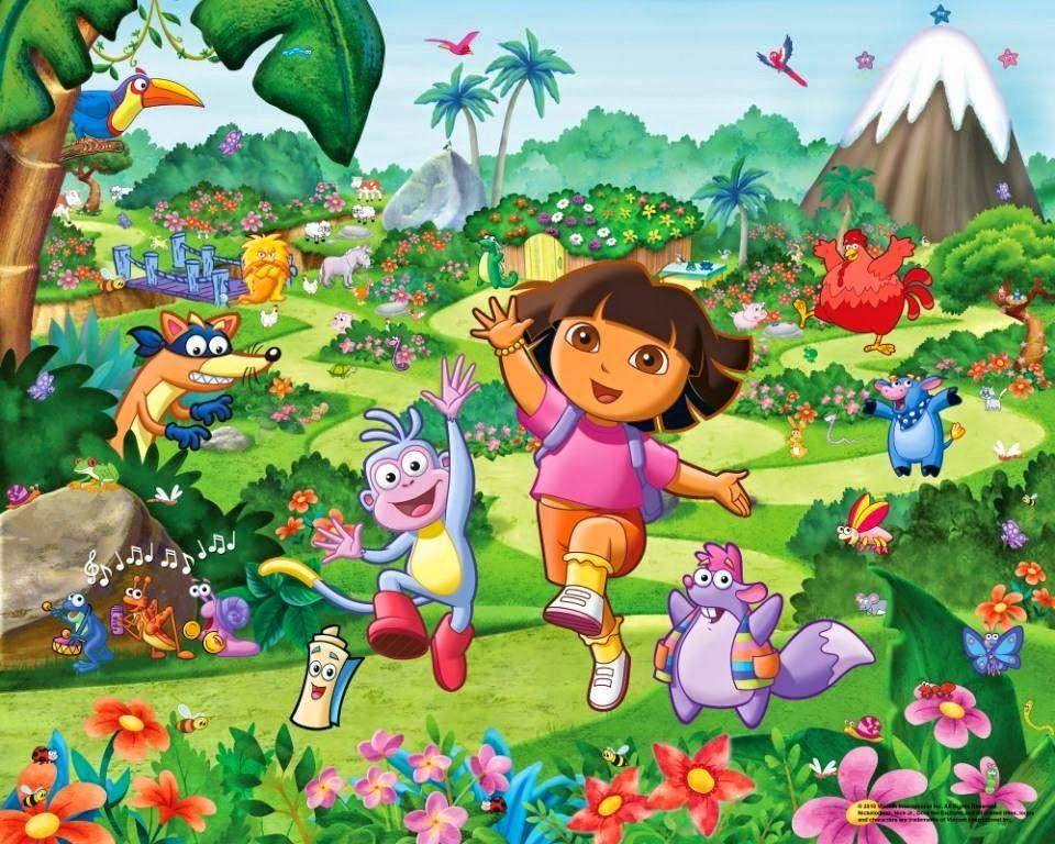 Cartoons For Preschool Dora Wallpaper Dora The Explorer Dora