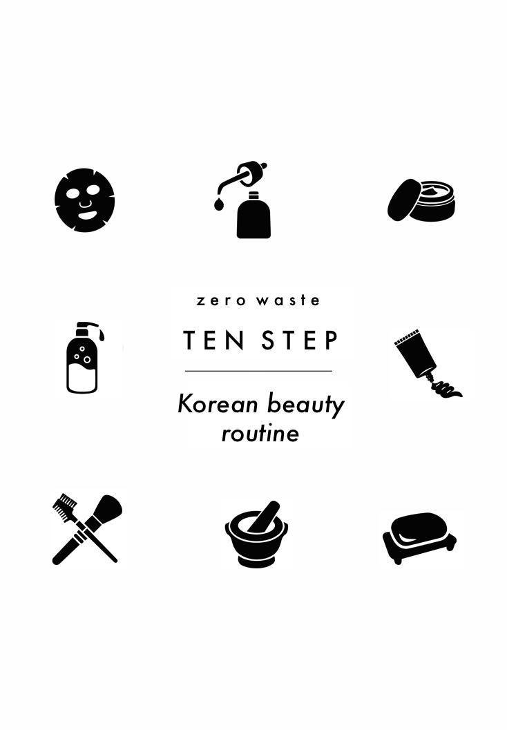Zero Waste 10 Step Korean Skincare Routine Korean 10 Step Skin