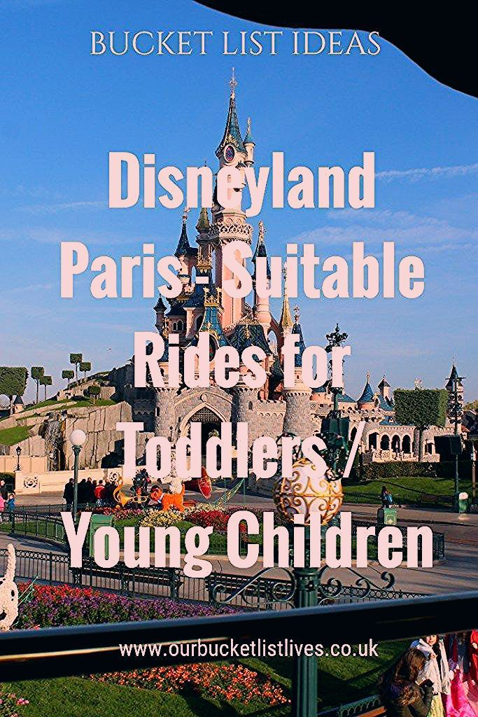 Photo of Disneyland Paris – Suitable Rides for Toddlers / Young Children