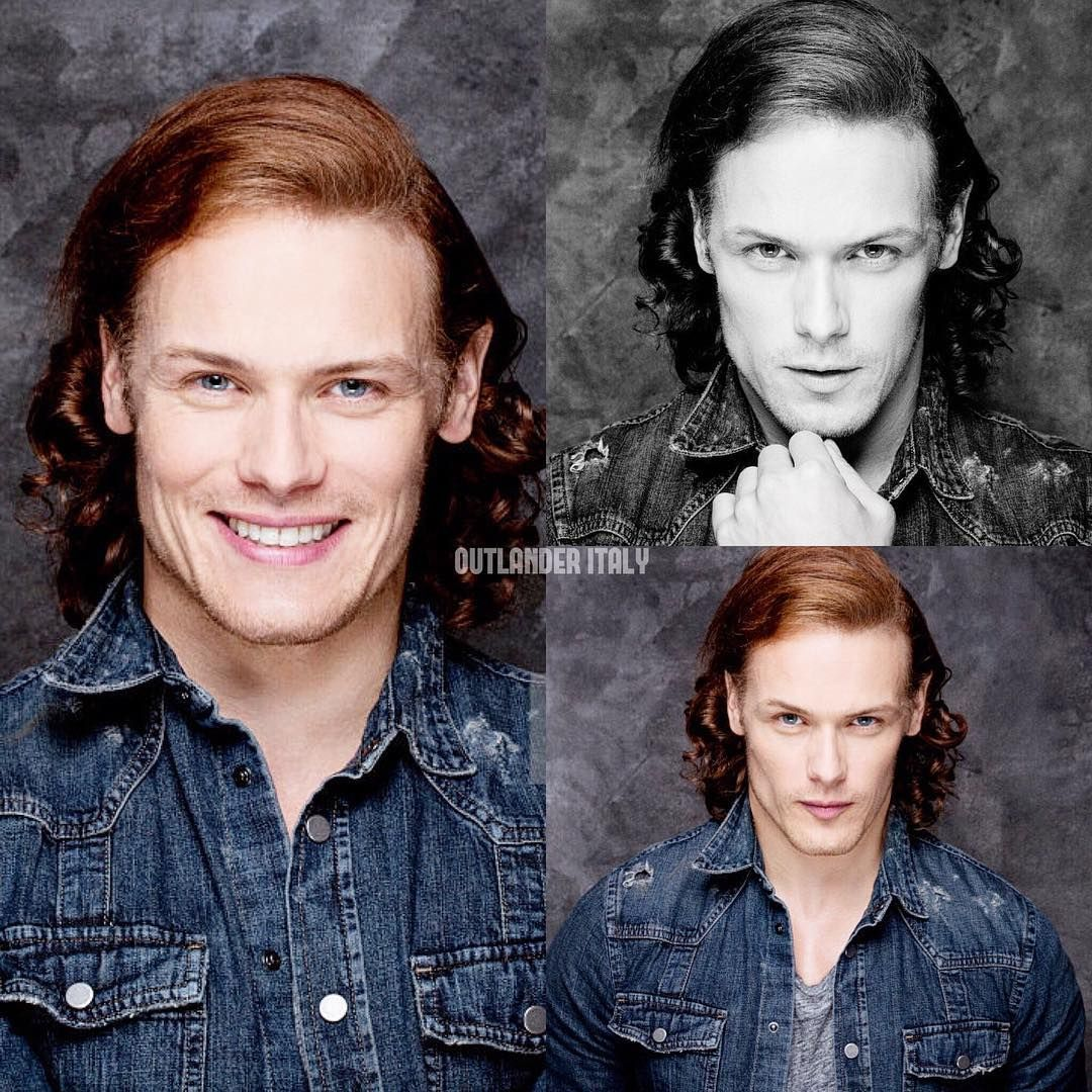 New Portraits of @samheughan at #SDCC  #Outlander #SamHeughan #JamieFraser #Starz #Scotland #portrait #photoshoot
