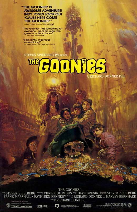 24x36 Goonies Poster Sean Astin Josh Brolin