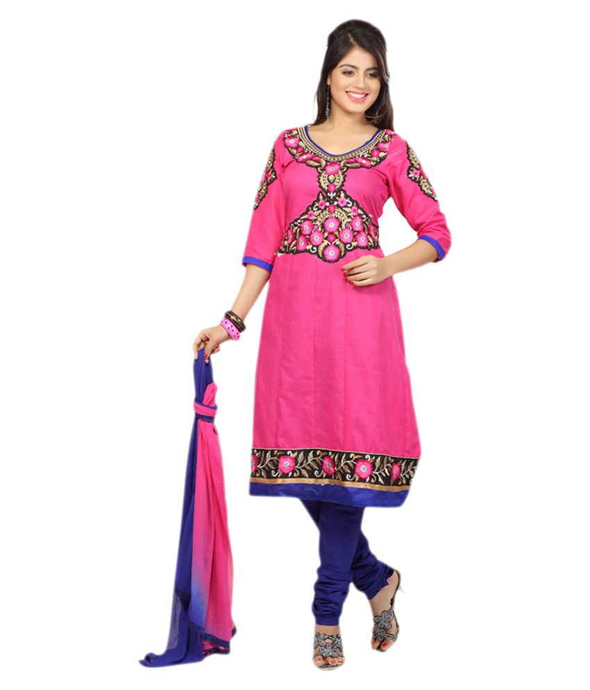 ef497e5d243 Buy Semi Stitched Anarkali Salwar Suit At Rs 999 Lowest Online Price From  Snapdeal Savings Offer. Get 50% Off On All Dress Material.Limited Period  Offer.