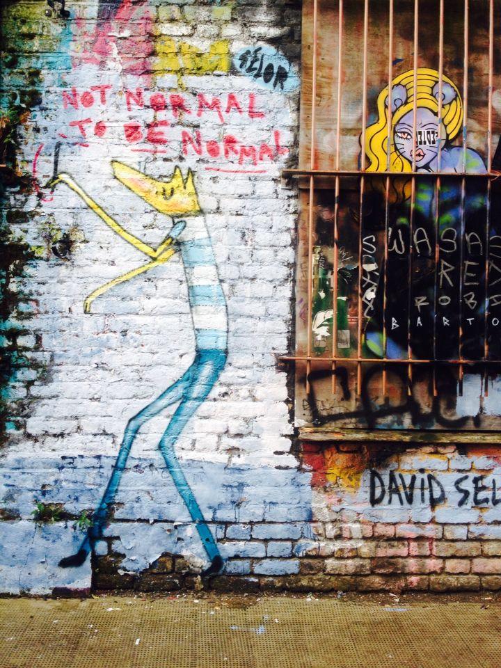 #streetart in #shoreditch #london
