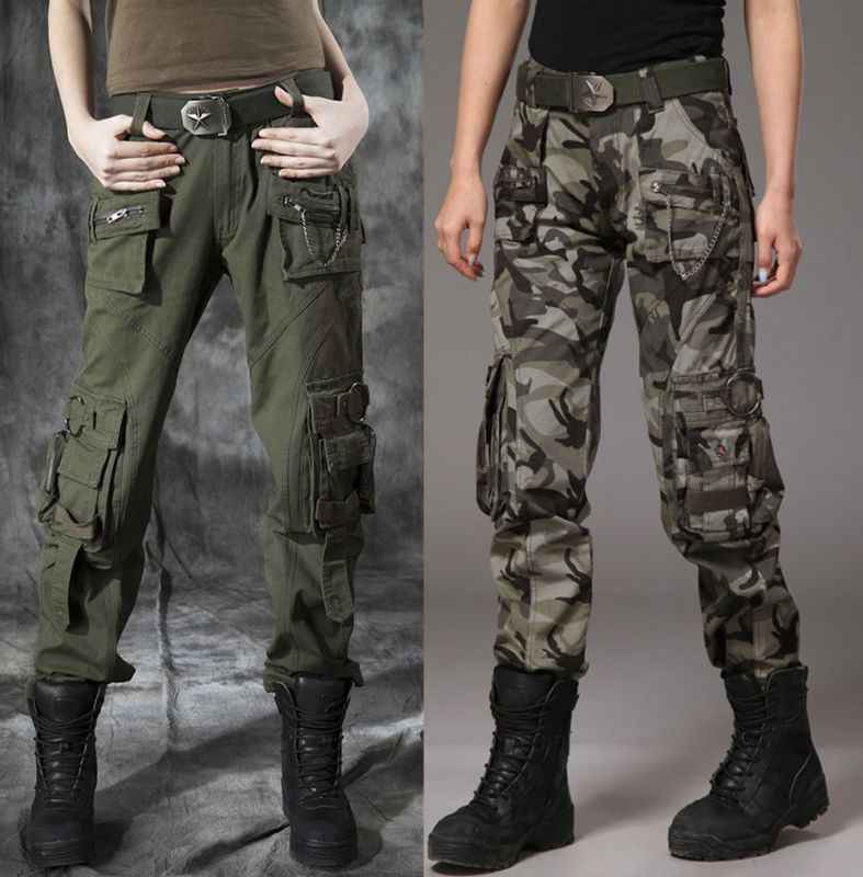 9f8ee2841804d £18.99 + £3.99 postage Ladies Womens Military Army Green Jeans Cargo Combat  Pants Leisure Trousers Girl in Clothes, Shoes & Accessories, Women's  Clothing, ...