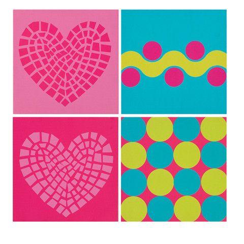 19++ Cuadro cuadrados de colores ideas