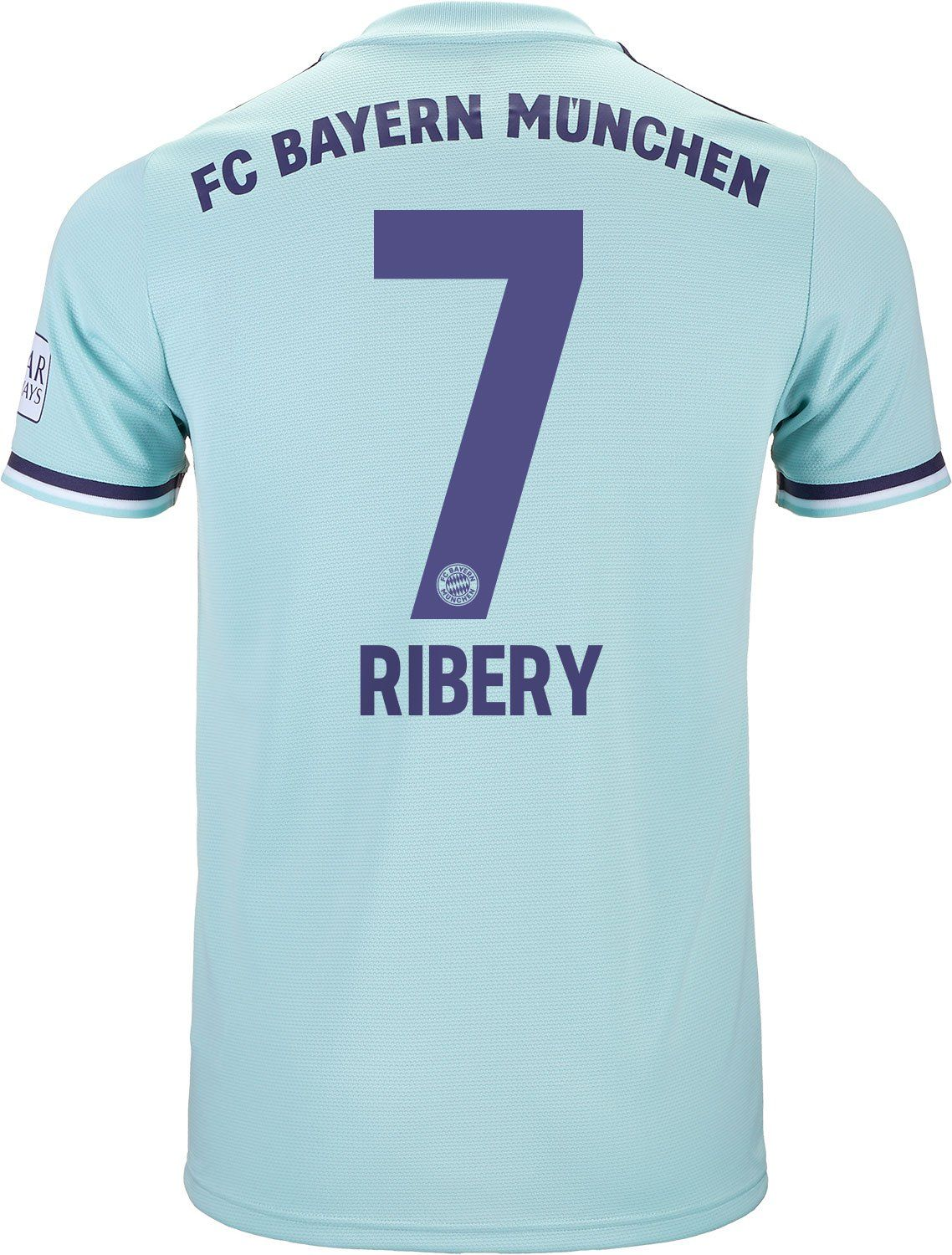 Get this 2018 19 adidas Ribery FC Bayern Away Jersey from soccerpro.com  today! 092cf2789
