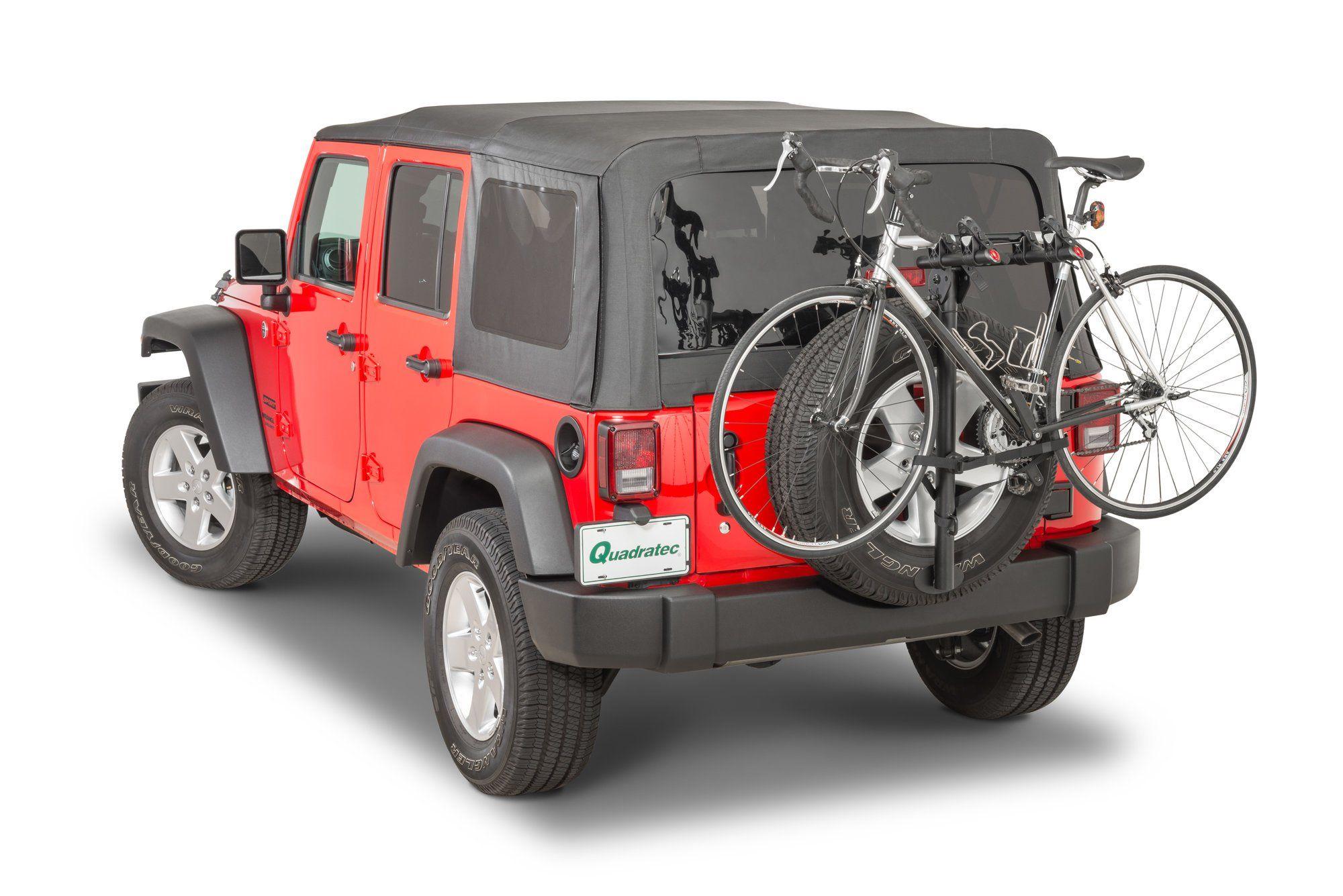 Spare Wheel Mounting Bike Rack Bike rack, Bike, Car