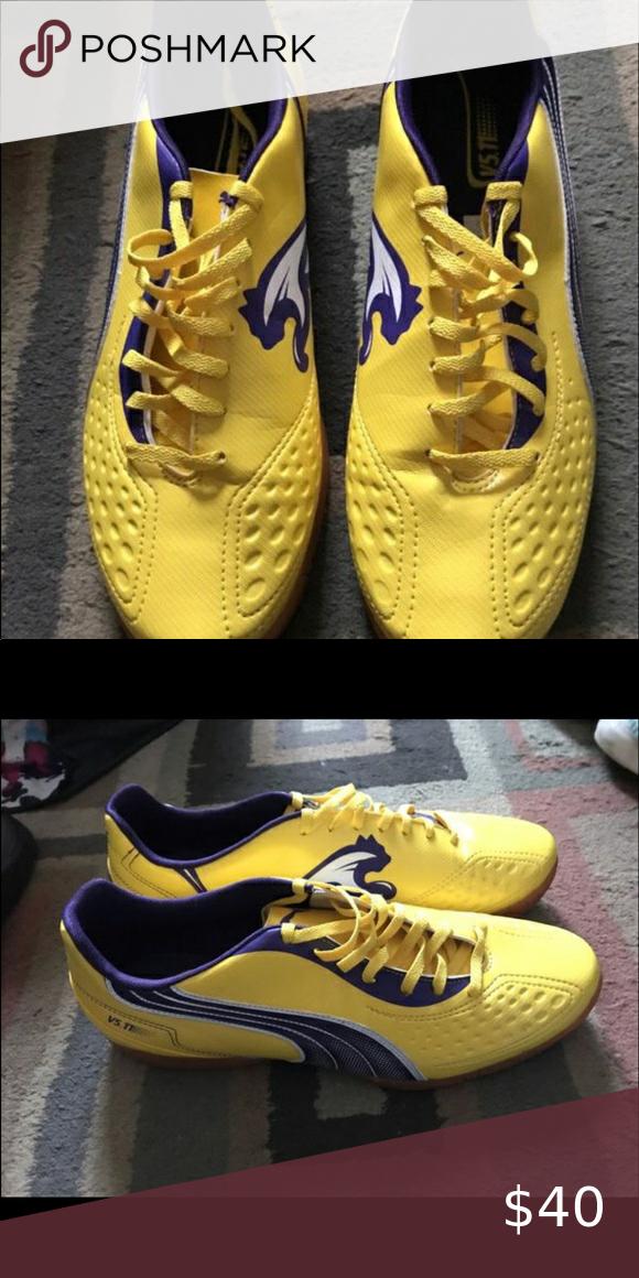 Yellow puma sneakers in 2020   Puma