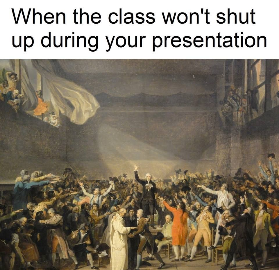 Pin By Syn On Classical Art Memes French Revolution Classical Art Memes David Painting