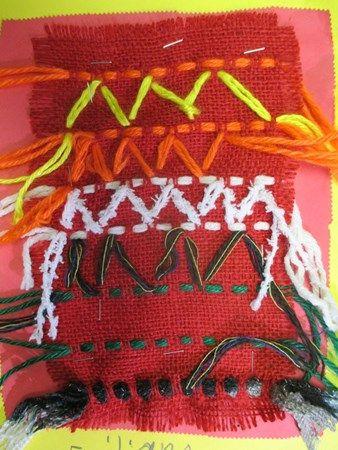 Burlap+Weaving+-+Artsonia+Lesson+Plan