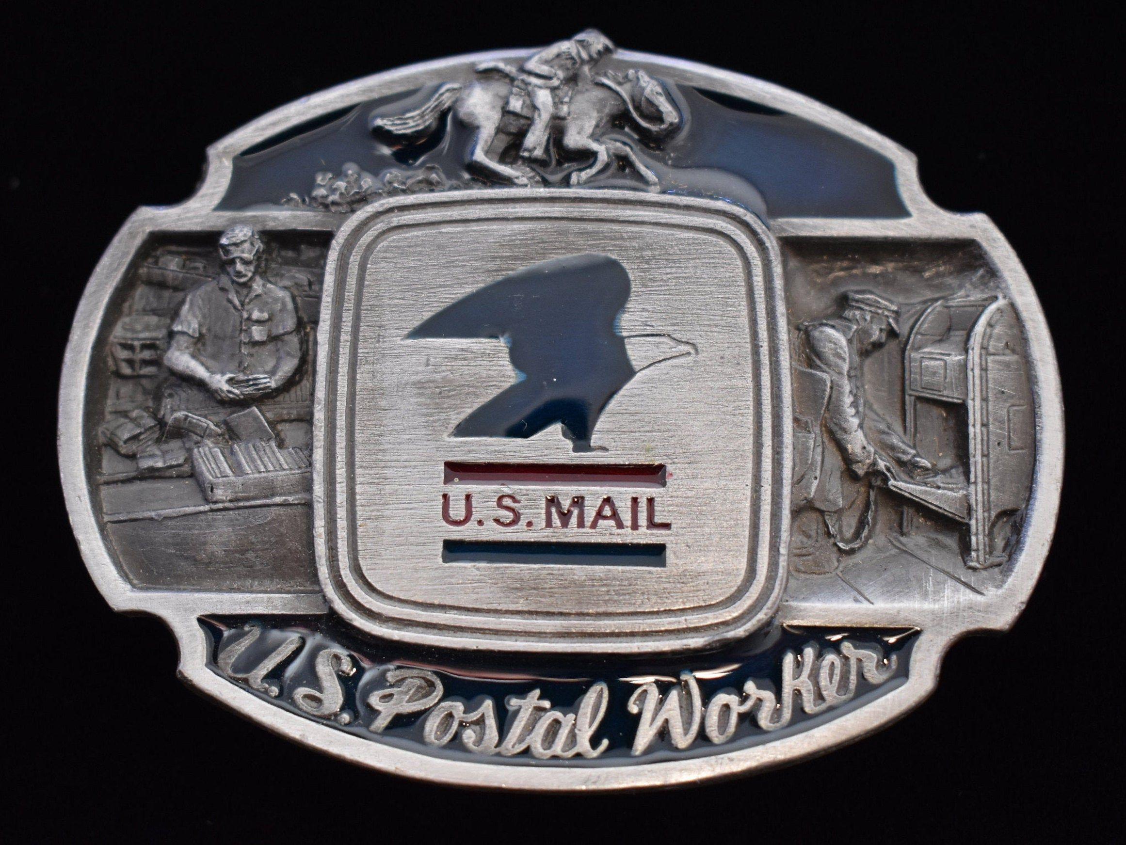 1980s United States Postal Service U.S. Mail Postal Worker