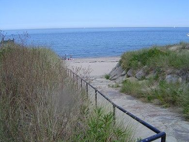 Private Manomet Beach Under A 5 Minute Walk Away In Plymouth Vacation Al Just Off Cape
