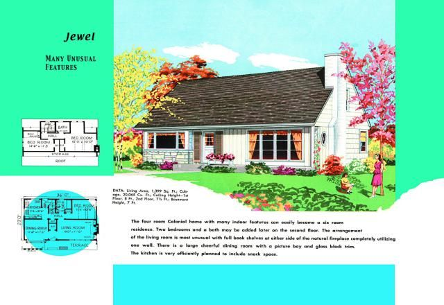 These Are Cape Cod House Plans Sold to Mid Century Americans