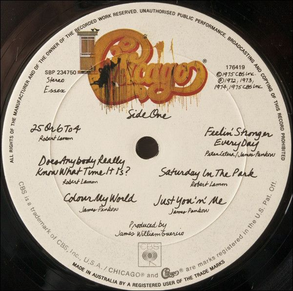 Chicago 2 Chicago Ix Chicago S Greatest Hits Vinyl Lp At Discogs Greatest Hits Chicago Record Label