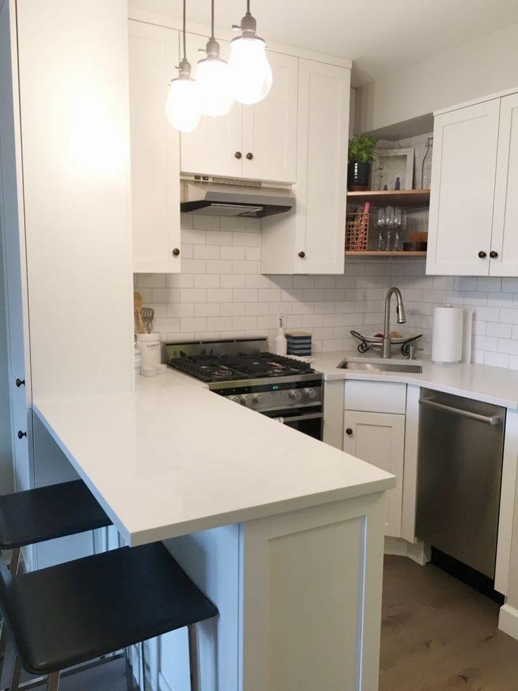 Inspirational Small Kitchens For Studio Apartments Studio Apartment Kitchen Small Apartment Kitchen Apartment Kitchen Island