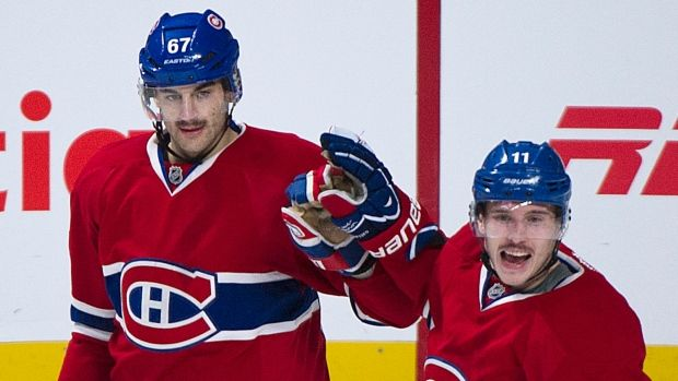 Montreal Canadiens' Brendan Gallagher (11) made his NHL debut with the Habs in the 2012-13 season. Gets 6-year extension with Canadiens.