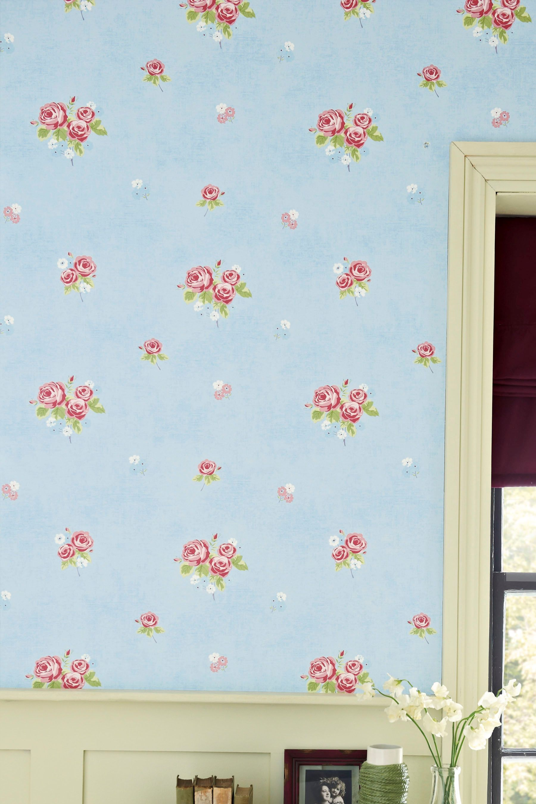 Next Bedroom Wallpaper Buy Ditsy Floral Wallpaper From The Next Uk Online Shop Rosie