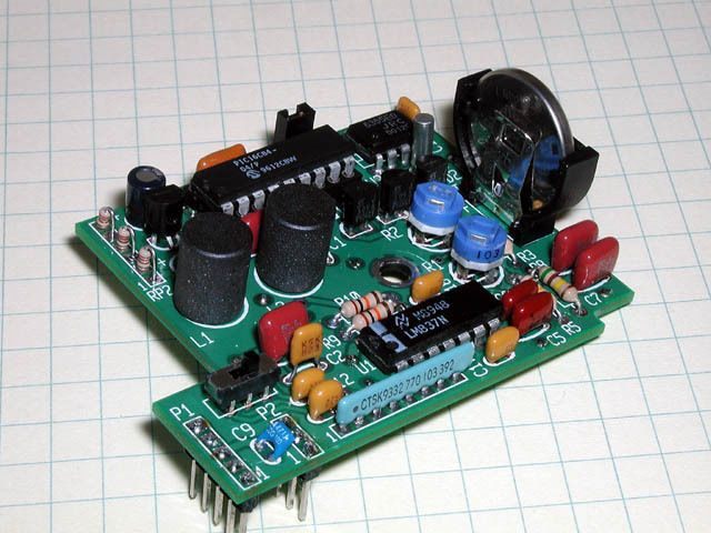 Elecraft KAF2 Low Noise Audio Filter and Real Time Clock for K2