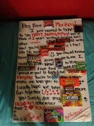 Image result for chocolate bar love letter  Valentines