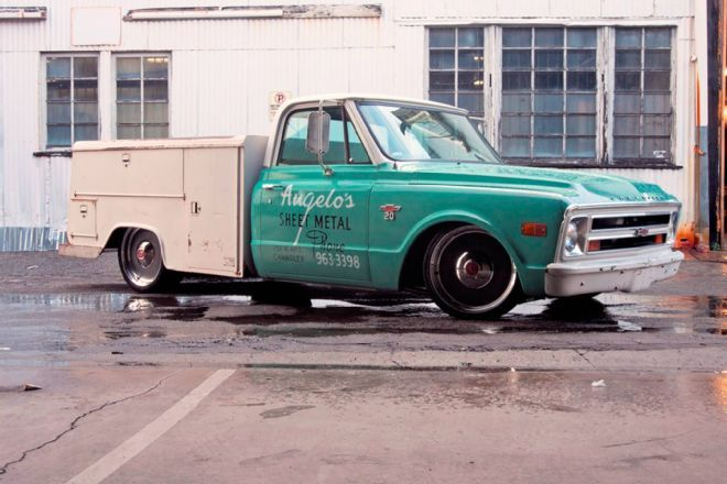 The 1968 Chevy Custom Utility Truck That Nobody S Seen Utility