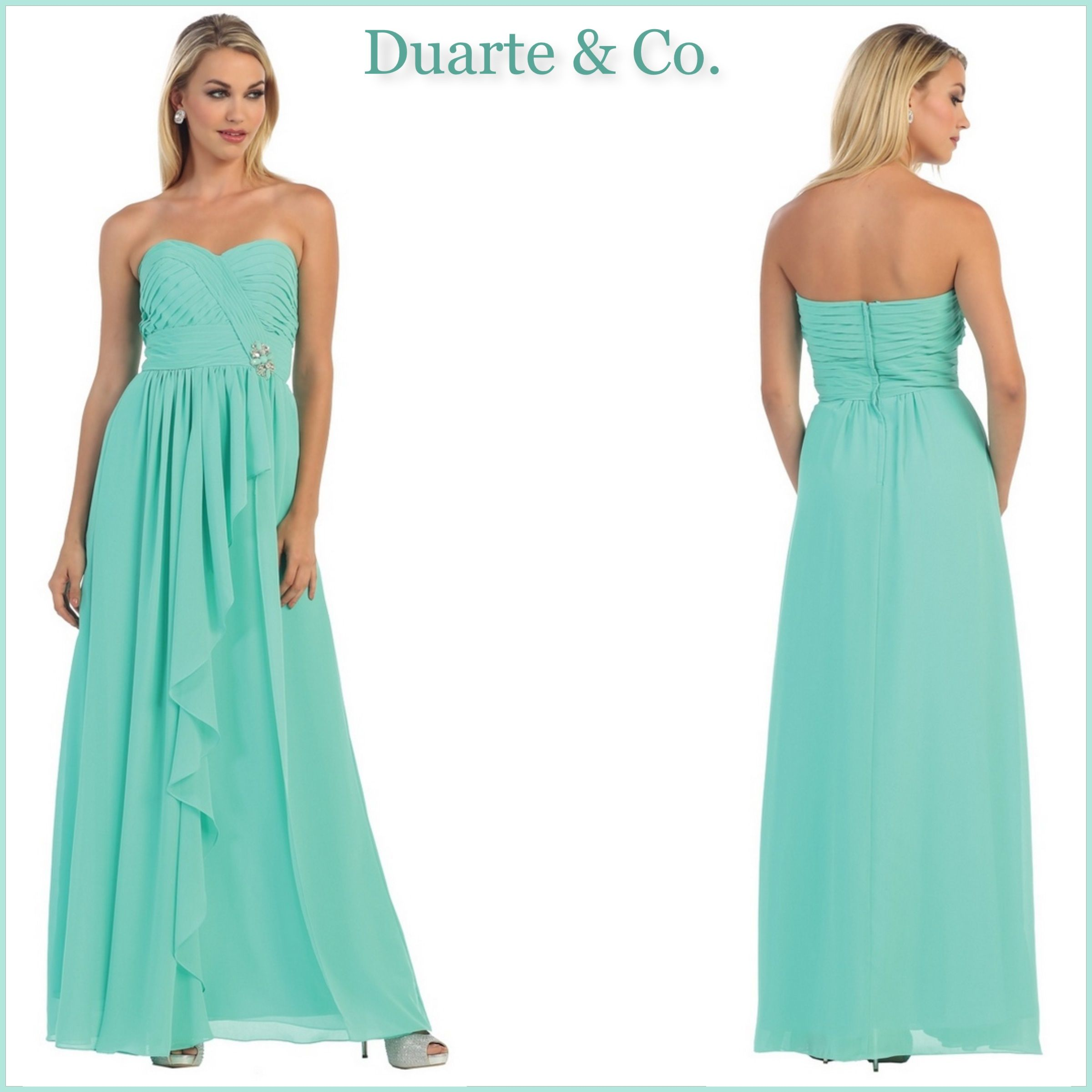 af57d9907f MQ895  98.00 Strapless Bridesmaid Dress W Plus Sizes 16 colors and is great  for any occasion. Available in plus sizes 4 to size 26.