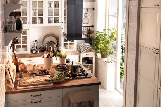 Consigli per arredare la cucina in stile country chic da ikea