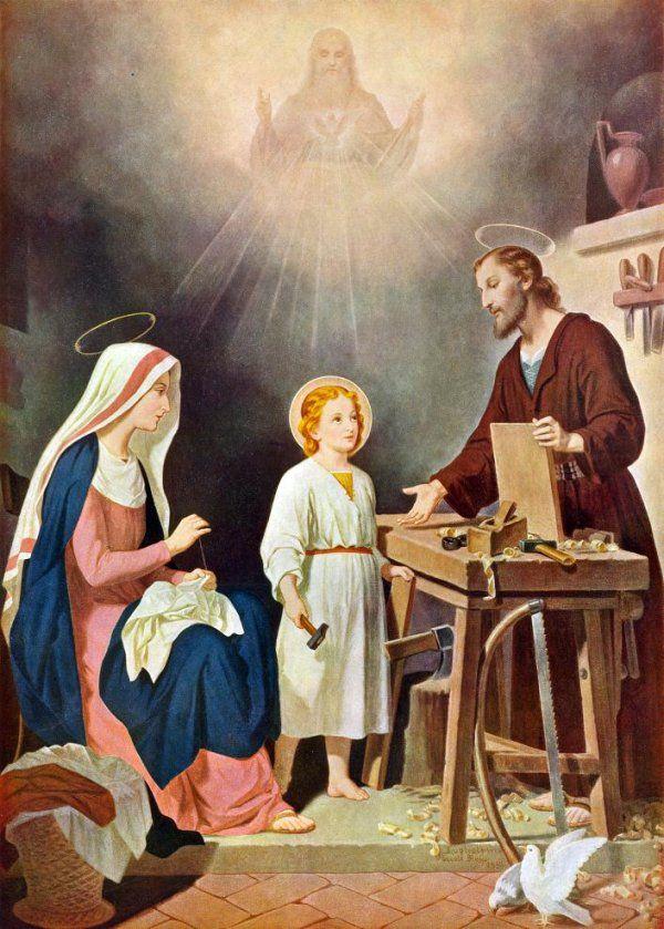 imagenes de la sagrada familia de nazaret - Buscar con ...