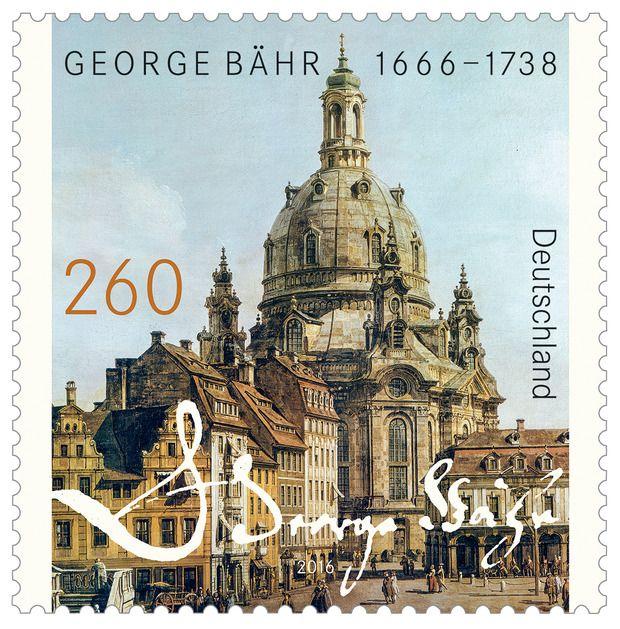 Deutschland 2016 350. Geburtstag von Bähr