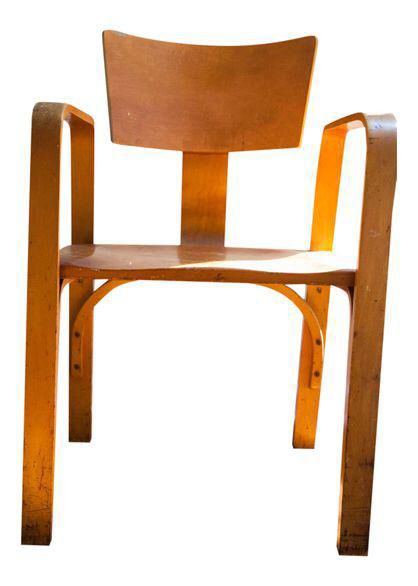 Vintage Thonet Bent Plywood Chair | Plywood Chair, Plywood And Modern Chairs