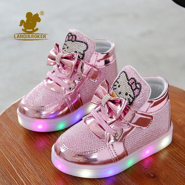 2016 New Cheapest Spring Autumn Winter Children S Sneakers Kids Shoes Chaussure Enfant Hello Kitty Girls Girls Casual Shoes Boys Casual Shoes Hello Kitty Shoes