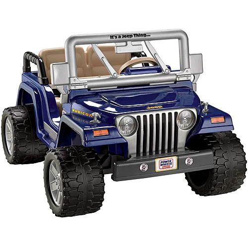 Toys Power Wheels Jeep Power Wheels Jeep Wrangler Rubicon
