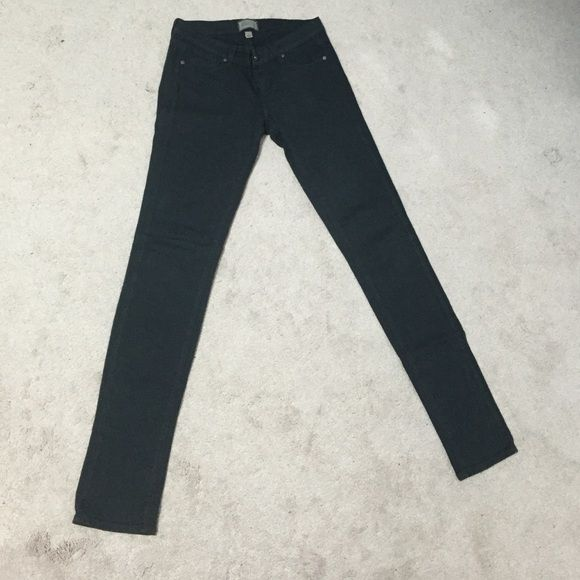 Forest green Paige jeans, skinny Comfortable fit, stretchy material, skinny Paige Jeans Pants