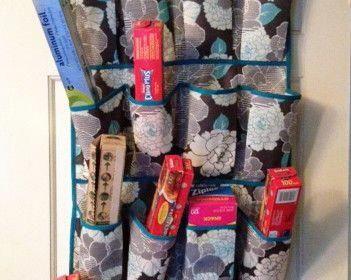 kitchen storage idea #kitchenhacks