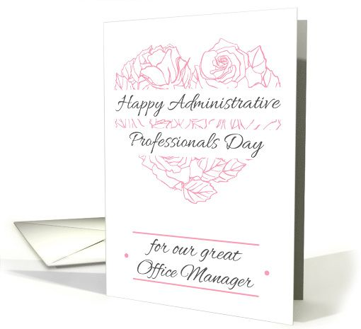 Happy administrative professionals day for office managers card by happy administrative professionals day for office managers card by epine anycardimaginable administrative professionalholiday cards m4hsunfo