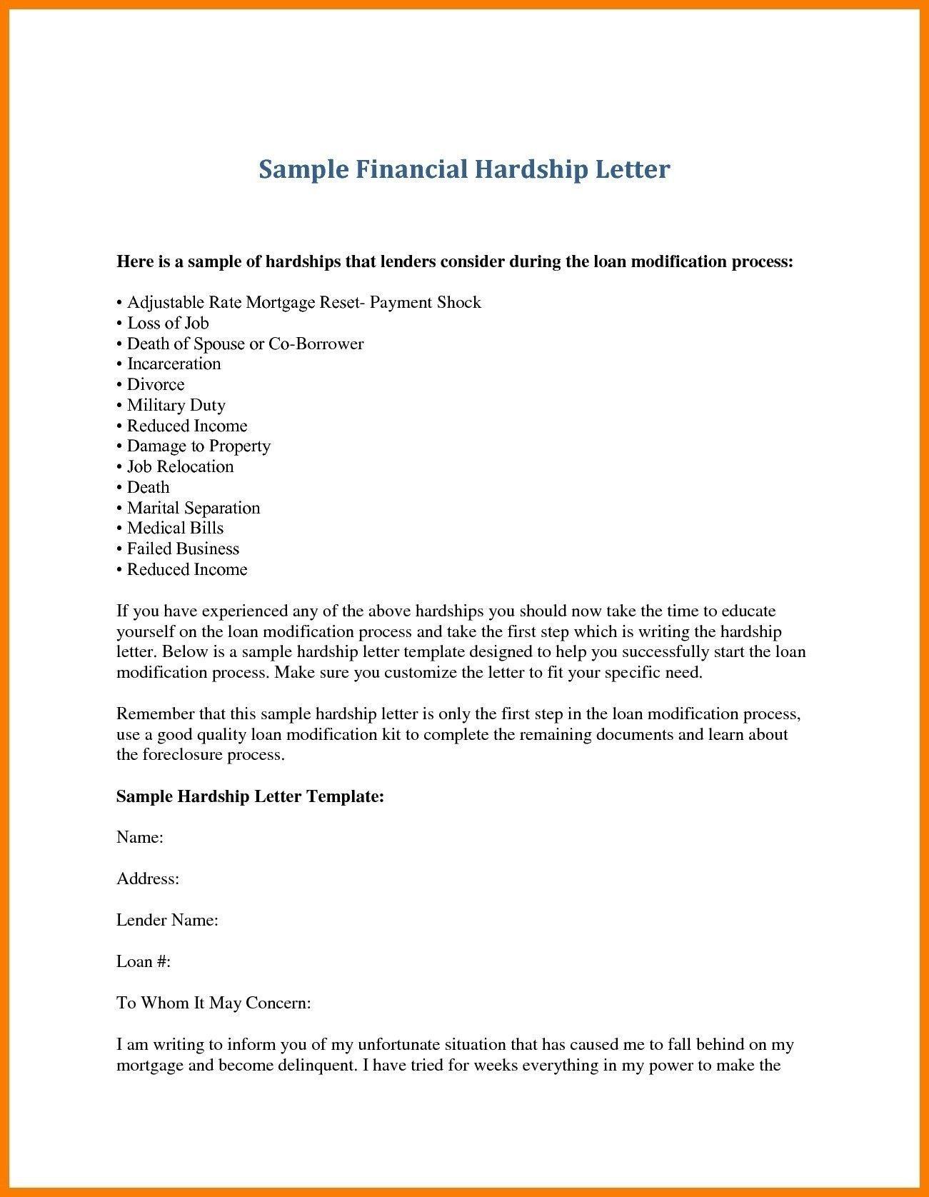 Best Refrence New Hardship Letter For Financial Assistance By Httpwaldwert Visit Details Https Httpwaldwer Loan Modification Lettering Financial Assistance