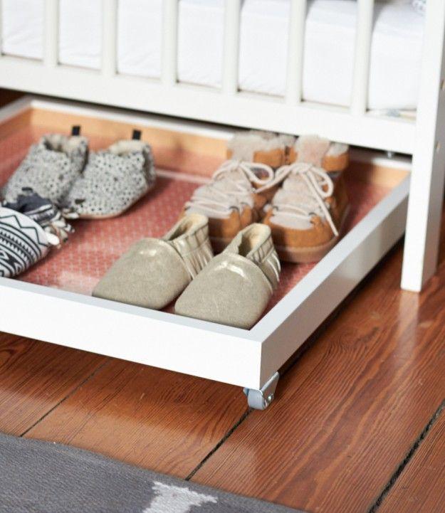 Schuhschublade für den Minisheriff | Schuhschublade ...