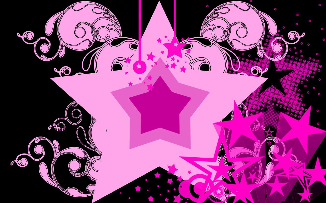 Pink Star Wallpaper By Estudyante With Images Star Wallpaper