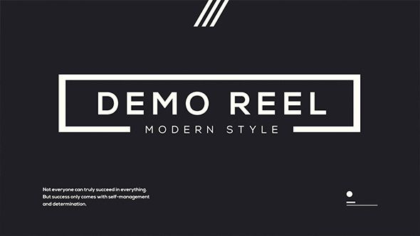 Clean Demo Reel (Special Events) #Envato #Videohive