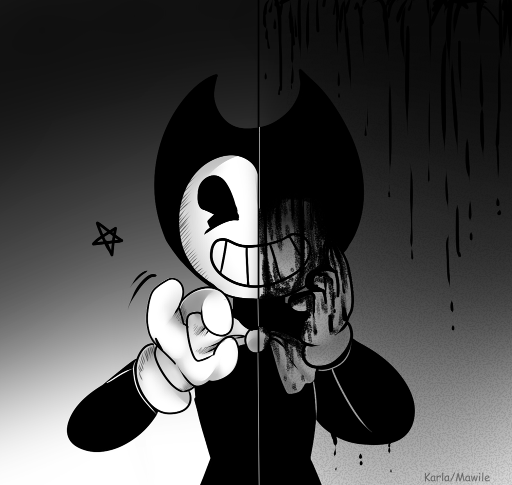 Chibi Bendy Art And Ink Machine