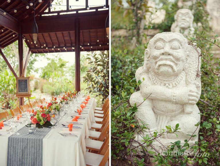 surprise birthday party at the Naples Botanical Garden | Event decor ...