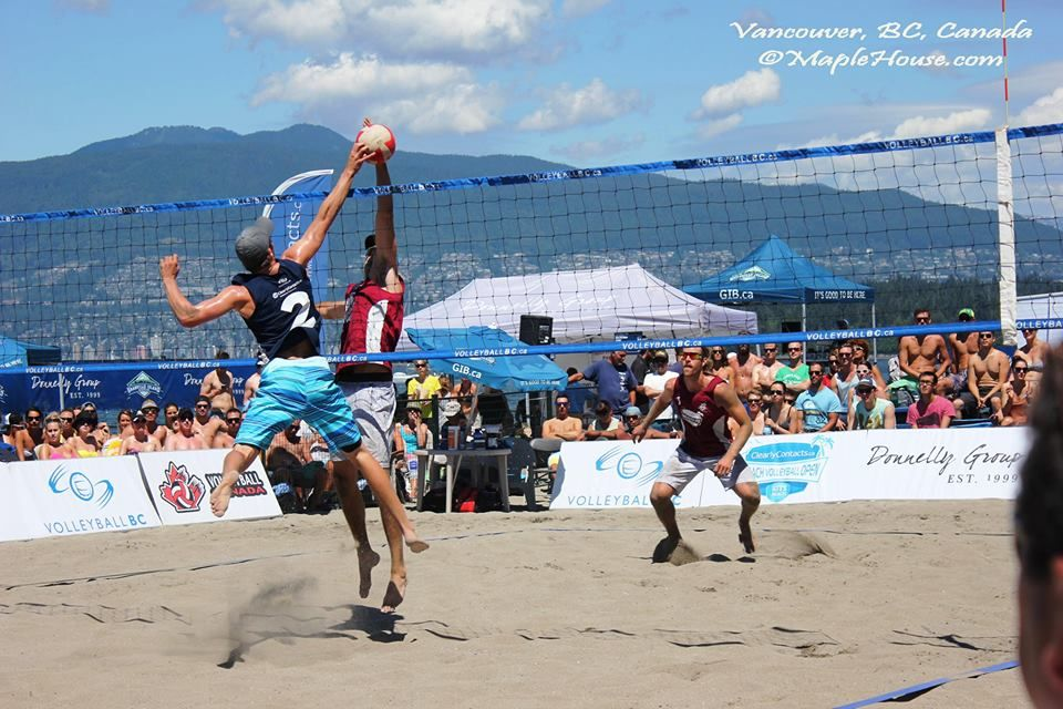 This Weekend In Kitsilano Beach One Of The Best Vancouver Summer Events Clearlycontacts Ca Beach Volleyball Open July 4 Beach Volleyball Vancouver Beach