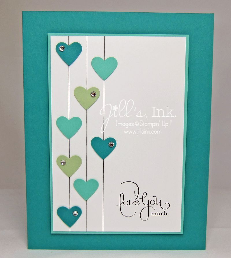 january projects make n take card best of love - Valentine Cards Pinterest