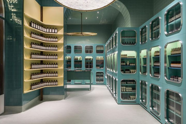 Aesop Boutique By Dimore Studio Milan Italy Retail Design Blog