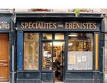 Laverdure et fils, marchand de couleurs - Fabricant de colles et de vernis, fondé en 1901 Dans le fief des menuisiers et ébénistes du faubourg Saint-Antoine, l'enseigne en fer forgé de Laverdure attire l'œil du passant. 58 rue traversière 75012